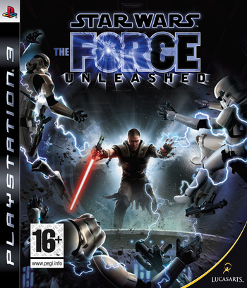 Star Wars: The Force Unleashed PS3 coverM (BLES00262)