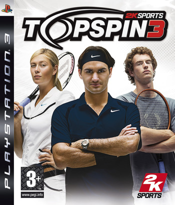 Top Spin 3 PS3 coverM (BLES00276)