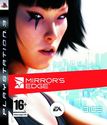Mirror's Edge PS3 coverM (BLES00322)