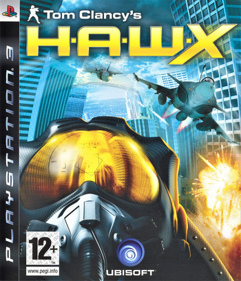 Tom Clancy's H.A.W.X PS3 coverM (BLES00330)