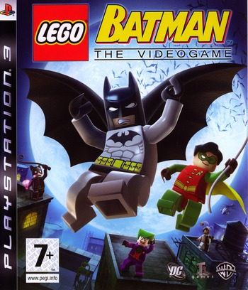 LEGO Batman: The Videogame PS3 coverM (BLES00332)