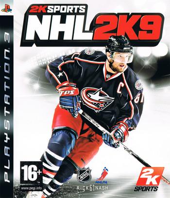 NHL 2K9 PS3 coverM (BLES00353)