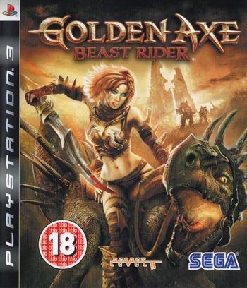 Golden Axe: Beast Rider PS3 coverM (BLES00391)