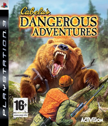 Cabela's Dangerous Adventures PS3 coverM (BLES00402)