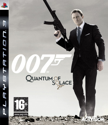 Quantum of Solace: The Game PS3 coverM (BLES00406)