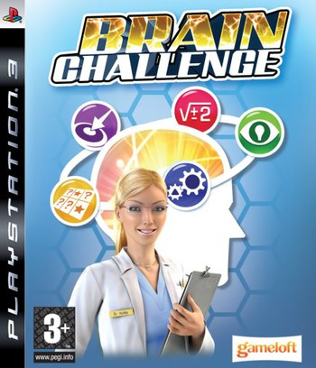 Brain Challenge PS3 coverM (BLES00420)