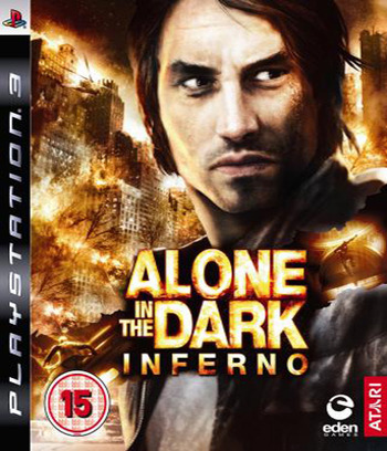 Alone in the Dark: Inferno PS3 coverM (BLES00422)