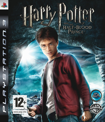 Harry Potter and the Half-Blood Prince PS3 coverM (BLES00424)
