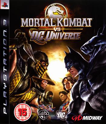 Mortal Kombat vs. DC Universe PS3 coverM (BLES00441)