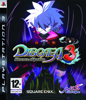 Disgaea 3: Absence of Justice PS3 coverM (BLES00452)