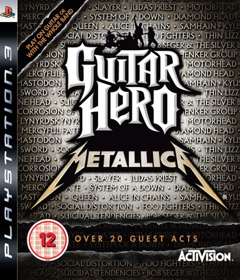Guitar Hero: Metallica PS3 coverM (BLES00479)