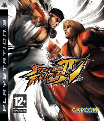 Street Fighter IV PS3 coverM (BLES00481)