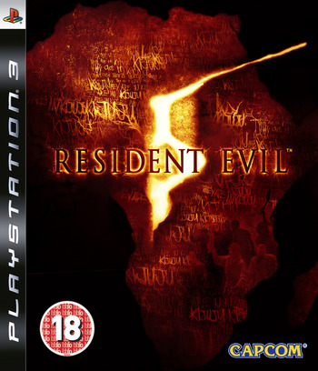Resident Evil 5 PS3 coverM (BLES00485)