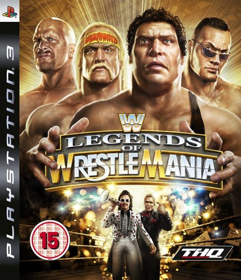 WWE Legends of WrestleMania PS3 coverM (BLES00492)