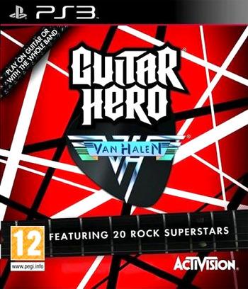 Guitar Hero: Van Halen PS3 coverM (BLES00578)