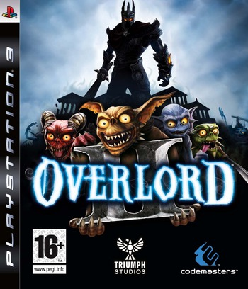 Overlord II PS3 coverM (BLES00580)