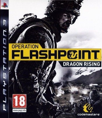 Operation Flashpoint: Dragon Rising PS3 coverM (BLES00597)