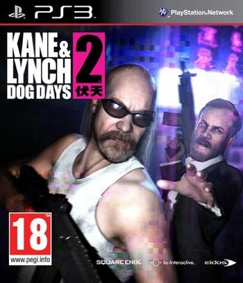 Kane & Lynch 2: Dog Days PS3 coverM (BLES00604)