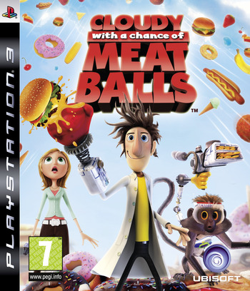 Cloudy with a Chance of Meatballs PS3 coverM (BLES00618)