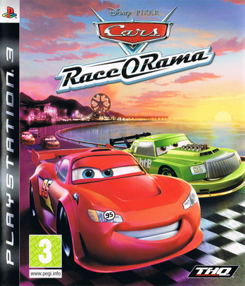 Cars: Race-O-Rama PS3 coverM (BLES00620)