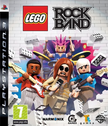 LEGO: Rock Band PS3 coverM (BLES00636)