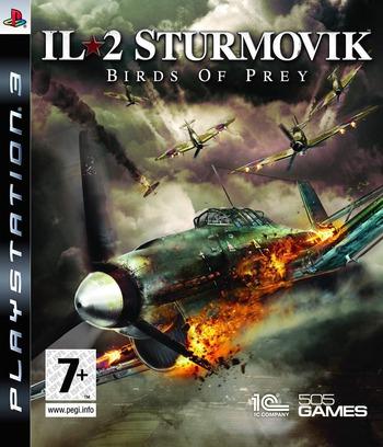 IL-2 Sturmovik: Birds of Prey PS3 coverM (BLES00648)