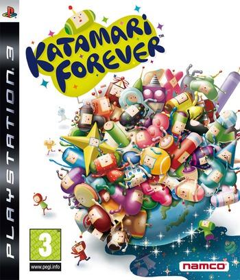 Katamari Forever PS3 coverM (BLES00658)