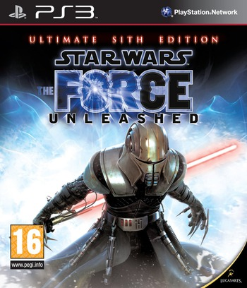 Star Wars: The Force Unleashed (Ultimate Sith Edition) PS3 coverM (BLES00678)