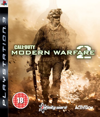 Call of Duty: Modern Warfare 2 Array coverM (BLES00683)