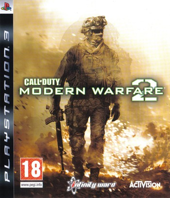 Call of Duty : Modern Warfare 2 Array coverM (BLES00687)