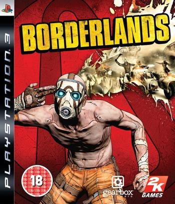 Borderlands PS3 coverM (BLES00697)