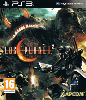 Lost Planet 2 PS3 coverM (BLES00710)