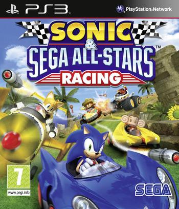 Sonic & Sega All-Stars Racing PS3 coverM (BLES00750)