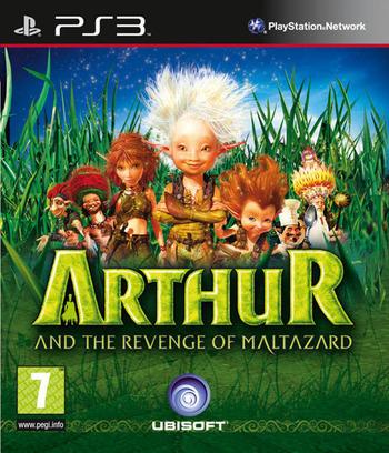 Arthur and the Revenge of Maltazard PS3 coverM (BLES00772)