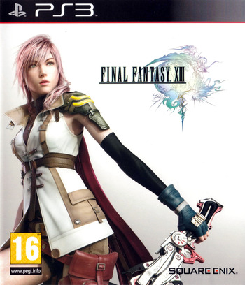 Final Fantasy XIII PS3 coverM (BLES00783)