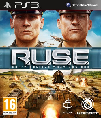 Ruse: Don't Believe What You See PS3 coverM (BLES00785)