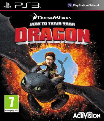 How to Train Your Dragon PS3 coverM (BLES00798)