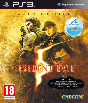 Resident Evil 5: Gold Edition PS3 coverM (BLES00816)