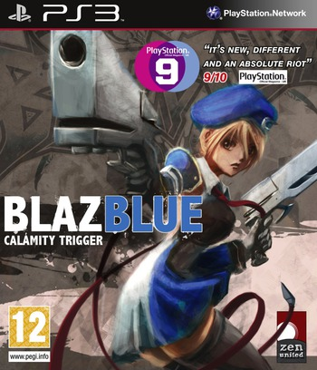 BlazBlue: Calamity Trigger PS3 coverM (BLES00820)