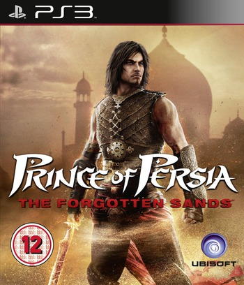 Prince of Persia: The Forgotten Sands PS3 coverM (BLES00839)