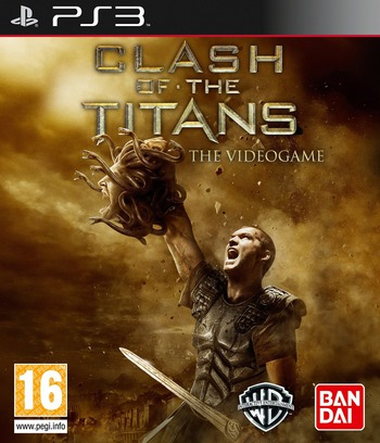 Clash of the Titans: The Game PS3 coverM (BLES00841)