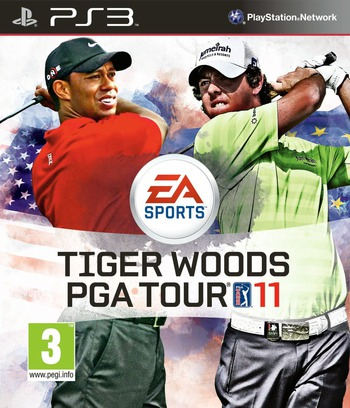 Tiger Woods PGA Tour 11 PS3 coverM (BLES00870)