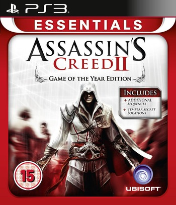 Assassin's Creed II - Game of The Year Edition PS3 coverM (BLES00899)