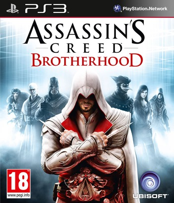 Assassin's Creed: Brotherhood PS3 coverM (BLES00909)