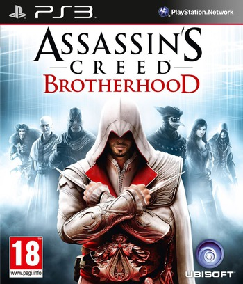 Assassin's Creed: Brotherhood PS3 coverM (BLES00910)