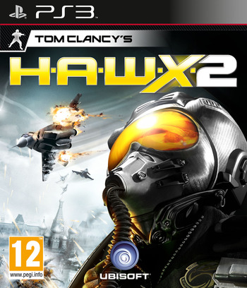 Tom Clancy's H.A.W.X. 2 PS3 coverM (BLES00928)