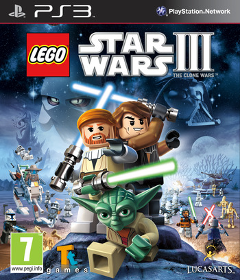 LEGO Star Wars III: The Clone Wars PS3 coverM (BLES00934)
