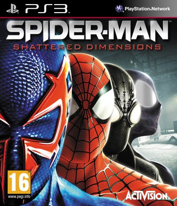 Spider-Man: Dimensions PS3 coverM (BLES00946)