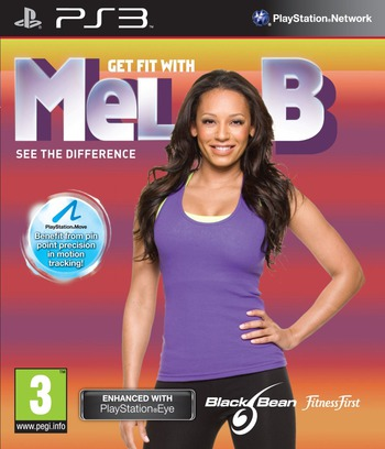 Get Fit with Mel B: See the difference PS3 coverM (BLES00977)