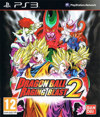 Dragon Ball: Raging Blast 2 PS3 coverM (BLES00978)